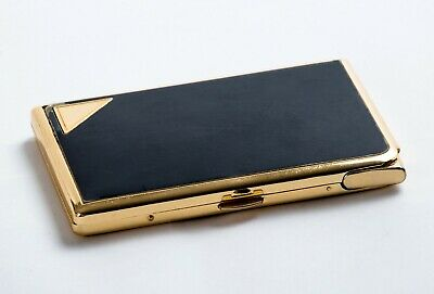 VINTAGE CHARMANT INT. CIGARETTE CASE WITH ENCLOSED LIGHTER