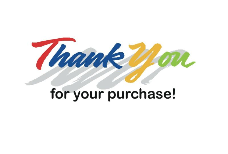 """50 Ebay Pre Printed 4 x 6 Postcards, Great Easy way to say """"Thank You"""""""