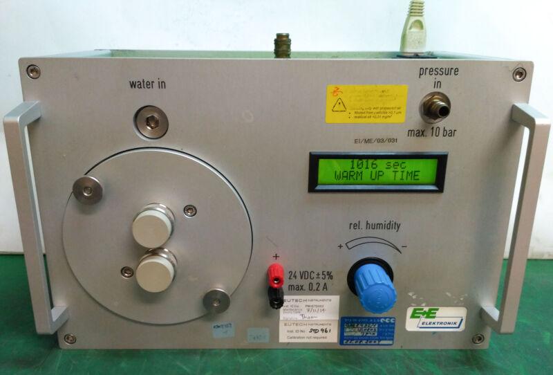 10735 E+e Elektronik Humidity Generator W/ Hi-end Humidity Calibration Humor 10