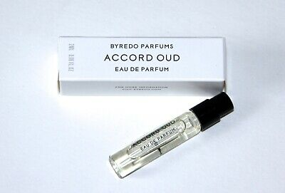 BYREDO Accord OUD 2ml EDP Perfume House Sample in Box Fresh NEW Niche