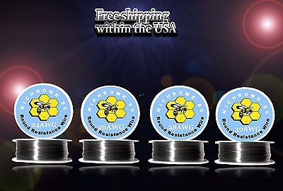 4pcs100ft Roll Of Each Gauge 24262830 Nichrome 80 Resistance Wire