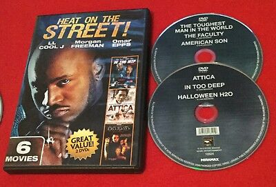 In Too Deep | H20 | Attica | The Toughest Man in the Wold | Faculty DVD 6 films