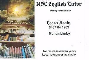 Mullumbimby HSC English Tutor Mullumbimby Byron Area Preview