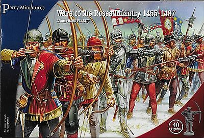 Perry Miniatures Wars Of The Roses Infantry 1450 1487  40  28Mm Plastic New