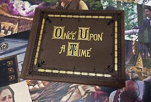 Once Upon a Time Mini hand made Story book