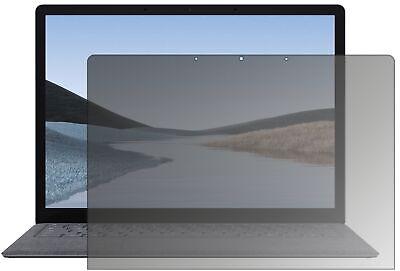Schutzfolie für Microsoft Surface Laptop 3 mit Sichtschutz Blickschutz Folie