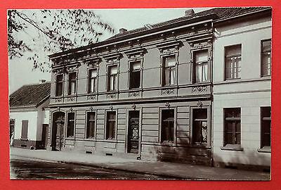 altes Foto auf Pappe DUISBURG um 1900 Wohnhaus    ( F15111