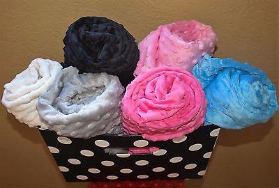 - Minky Baby Blanket Minky Dot Crib Bedding