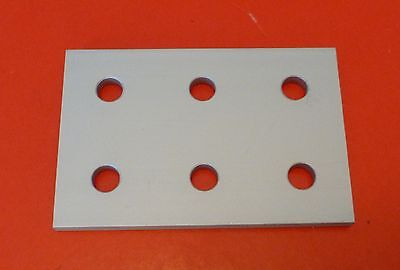 Tnutz Anodized Aluminum 6 Hole Joining Plate 10 Series Pn Jp-010-f New