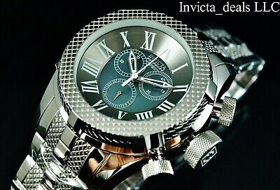 Invicta 50mm Bolt Gen III Swiss Chrono Mother Of Pearl Dial High Polish SS (Sport Mother Of Pearl Dial)