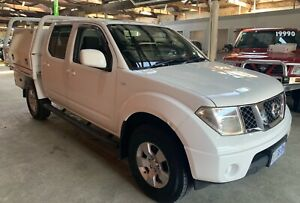 2010 NISSAN NAVARA **4X4 TURBO DIESEL** Launceston Launceston Area Preview