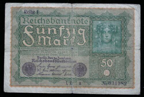 Banknote Germany 50 Mark 1919