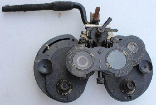 Rare Antique 1920s General Optical Co Genothalmic Refractor Phoropter Eye Doctor