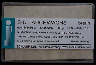 Dental Wax S-u-dipping Wax By Schuler Dental Brownmade In Germany