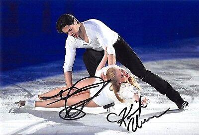Kaitlyn WEAVER / Andrew POJE - CAN - Eiskunstlauf - Foto signiert (2)