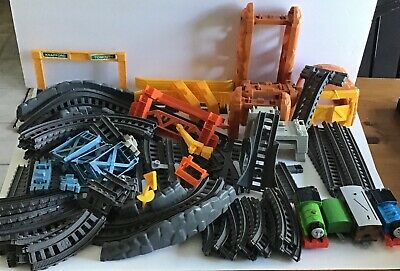 Lot of 78 Thomas & Friends Track Master Gray 3 Expansion Packs Please READ!