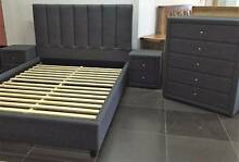 SPECIAL new BEDROOM queen upholstered UP TO 30MTH NO INTEREST Bundall Gold Coast City Preview