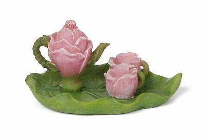 Miniature Fairy Garden Flower & Leaf Tea Set - Buy 3 Save $5
