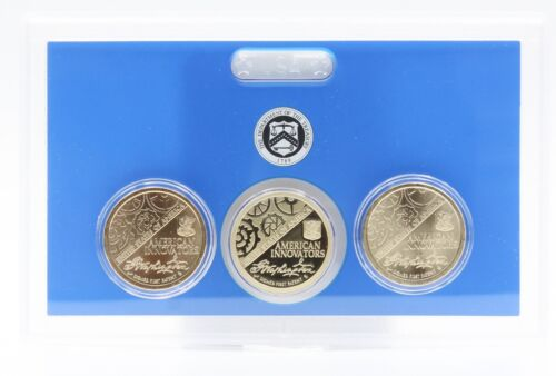 2018-P D & S AMERICAN INNOVATION DOLLARS   3 COINS