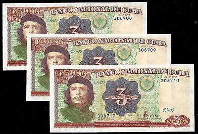 * Isle C... 3 Pesos 1995  !   UNC ! series СА 05  308*** ! 1ps  ! P.113