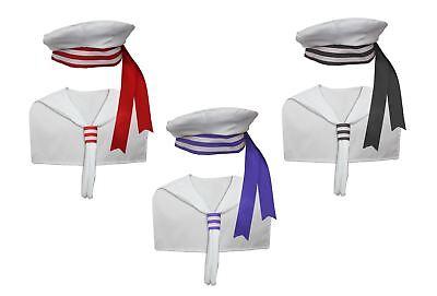 Adults Unisex Sailor Kit Fancy Dress Nautical Navy Skipper Costume - Skipper Kostüm