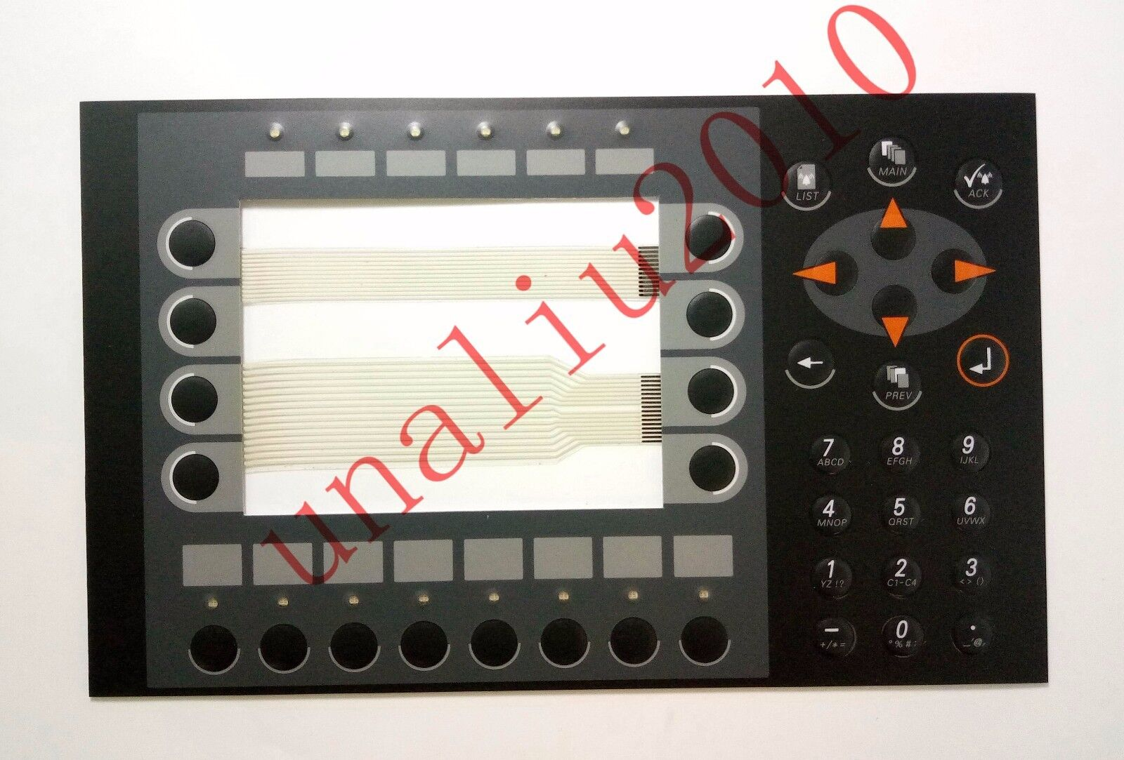 1pc Mitsubishi Beijer Membrane Keypad MAC E700 02440A B E G