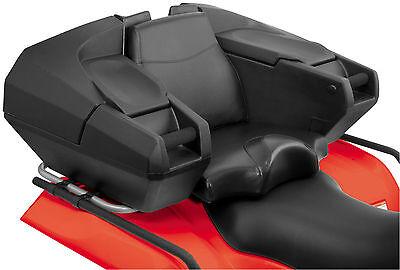 Cargo Seat (Quadboss Weekender ATV Rear Seat Rack Cargo Storage Trunk Box Passenger)
