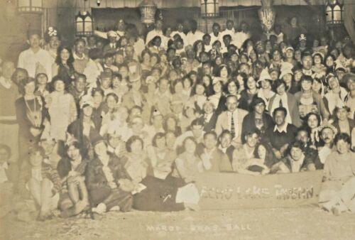 1925 mardi gras ball, echo lake tavern warrensburg new york; Wie & Was Club ??