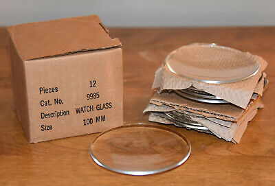 Pyrex Original Made In Usa 9985 100mm Watch Glass 12 Pieces New Great Shape