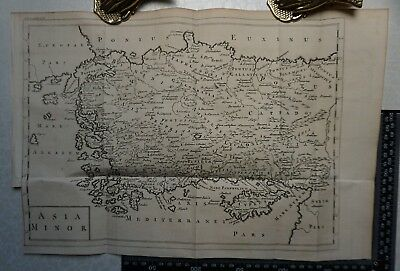 1747 A Map of Asia Minor from a Universal History