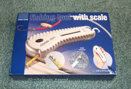 FISHING TOOL WITH SCALE NEW IN BOX