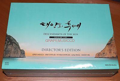 DESCENDANTS OF THE SUN K-DRAMA 14 DISC DVD DIRECTOR