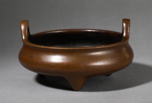 Marked chinese bronze incense burner censer