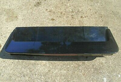 1985 Toyota Mr2 Brake - 1985-1989 Toyota MR2 MK1 Trunk w/ 3rd Brake Light Spoiler AW11 OEM Black