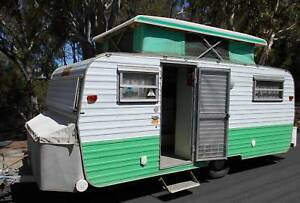 EARLY 70'S MILLARD 14FT POP TOP CARAVAN Royal Park Charles Sturt Area Preview
