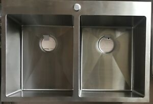 SS 304 SINK 6 MODELS TOPMOUNT DOUBLE SINGLE UNDERMOUNT