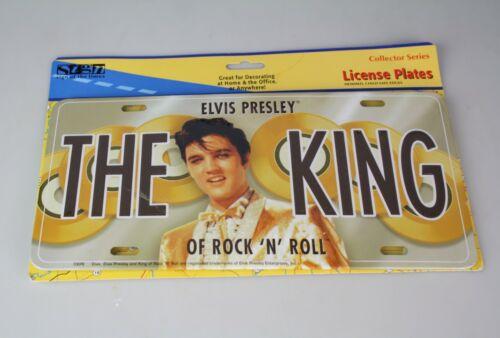 Elvis Presley The King of Rock LICENSE PLATE NEW!