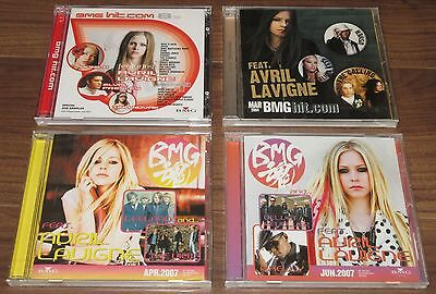 SEALED Japan PROMO ONLY! Avril Lavigne pic on sleeve 4 x various artist comp. CD