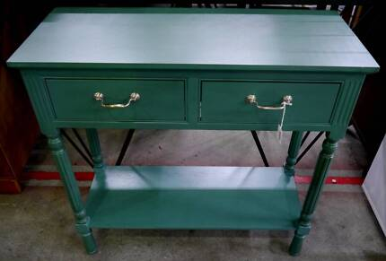 New French Provincial Timber Jade Hallway Hall Storage Table 2 Dr Richmond Yarra Area Preview
