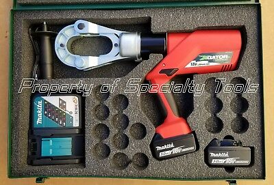 Greenlee Gator Ek1550ftlu Battery Hydraulic 15 Ton Crimper P Die Crimping Tool