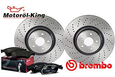 BREMBO Bremsenset gelocht Audi A3 | Seat Altea + Leon + Toledo Hinten 253MM
