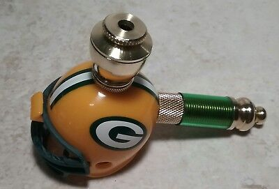 GREEN BAY PACKERS NFL Pocket Mini Football Helmet Pipe Nickel