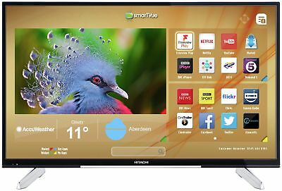 Hitachi 50HK6T74U 50 Inch 4K Ultra HD Freeview Smart WiFi LED TV
