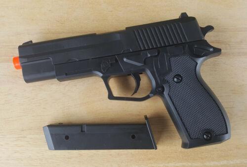 Airsoft Gun Ukarms P2220 Black Spring Powered Handgun Pistol 6mm 0.12g BB BBs