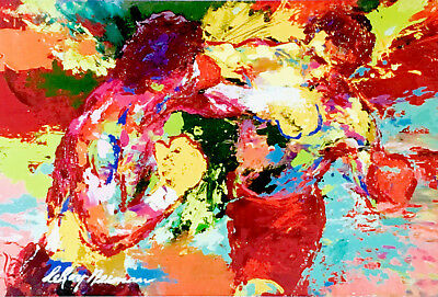 Rocky 3 Oil Painting 40x26 NOT a print poster.Box Framing Avail Apollo Creed