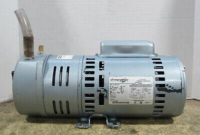 Gast 1023-101q-g608ngx 34hp Rotary Vane Air Compressor Vacuum Pump 120vac