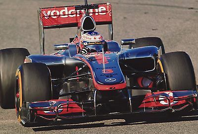 Jenson Button Picture 12x8 *Charity Listing* Motor Racing. F1. Grand Prix