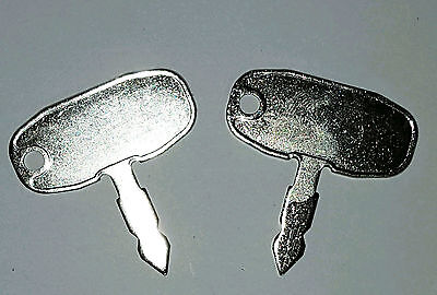 2 Ford New Holland Tractor Heavy Equipment Ignition Key Large Head Eli80-0139