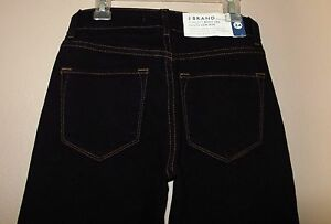 J Brand Scarlett Boot Leg Curvy Fit Low Rise Black Stretch Jeans 24 25 XXS XS