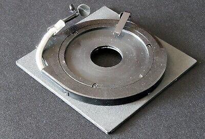 Sinar F F1 F2 P P2 Objektiv Platine Lens Board Druckblende 4x5 Copal #0 Ø34,6 mm